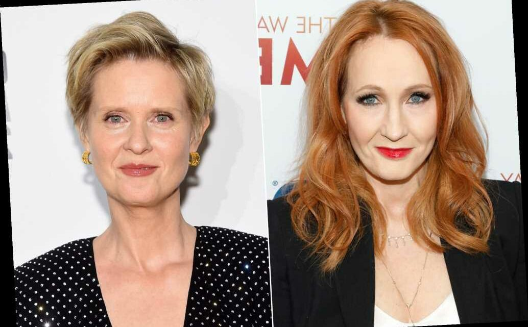 Cynthia Nixon, who has a trans child, is baffled by J.K. Rowling