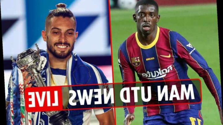 2.15pm Man Utd transfer news LIVE: Ousmane Dembele loan offer, Telles expects to join THIS WEEK, Upamecano still wanted – The Sun