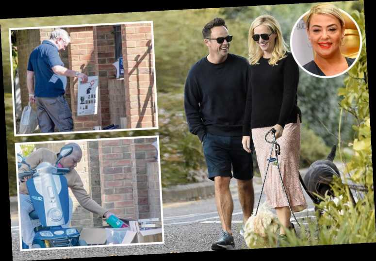 Ant McPartlin's ex Lisa Armstrong clears out star's stuff and leaves it on the street