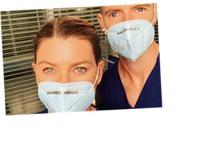 Ellen Pompeo back to work on 'Grey's Anatomy' amid COVID-19 pandemic