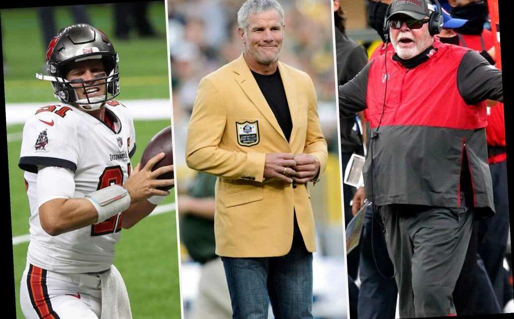 Brett Favre warns of Tom Brady 'dissension' after Bruce Arians' harsh words