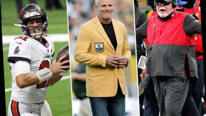 Brett Favre warns of Tom Brady 'dissension' after Bruce Arians' harsh words