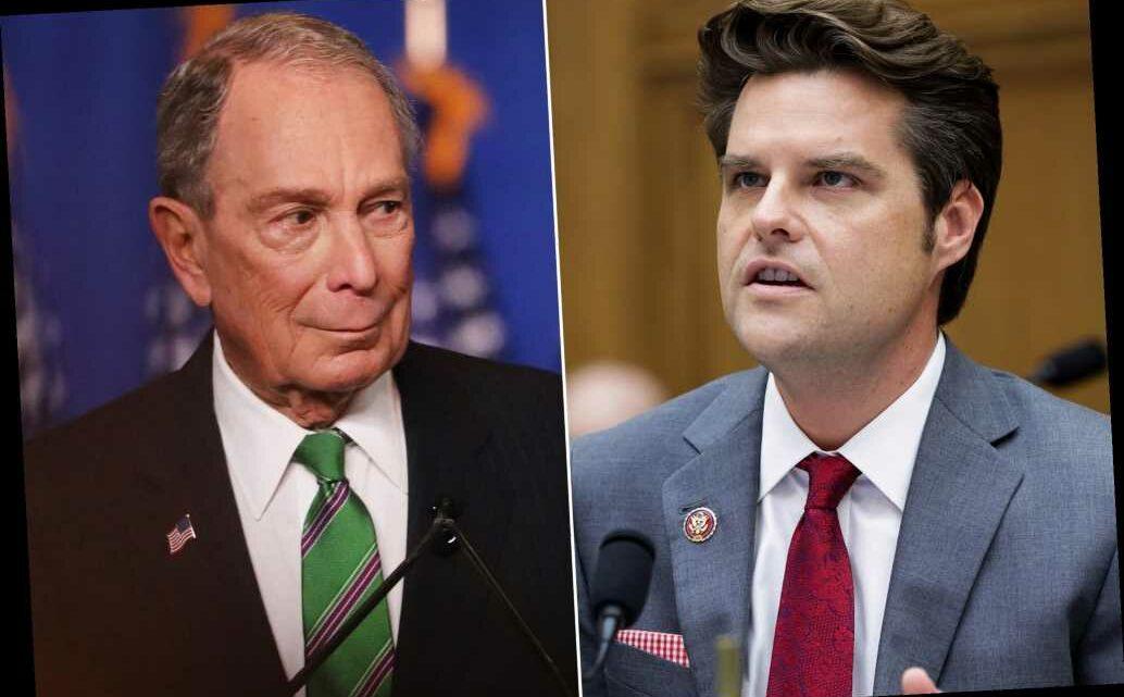 Rep. Matt Gaetz: Bloomberg may face criminal probe for paying felons' fines