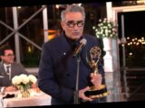 Eugene Levy Shouts Out Daniel Levy in Emmys Speech: 'Thank You, Son'