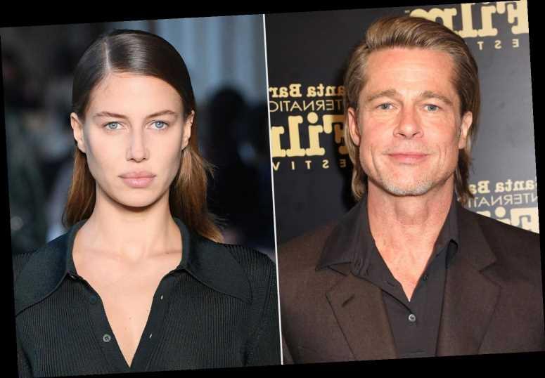 Brad Pitt's Girlfriend Nicole Poturalski Makes Rare Runway Appearance During Milan Fashion Week