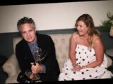Mark Ruffalo's Wife Sunny Coigney Cries as Actor Wins Emmy and Makes Impassioned Plea for Voting