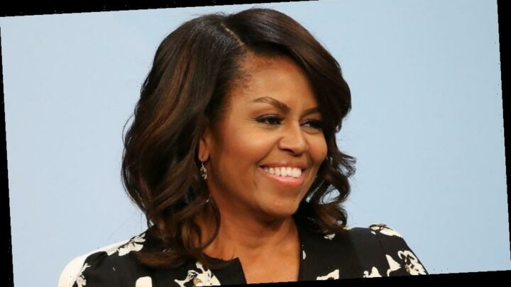 The transformation of Michelle Obama from 6 to 56 years old