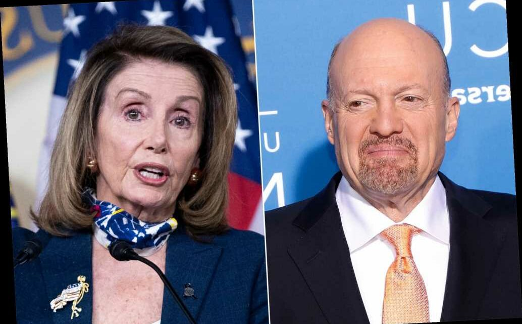 CNBC host Jim Cramer calls Pelosi 'Crazy Nancy' to her face during interview