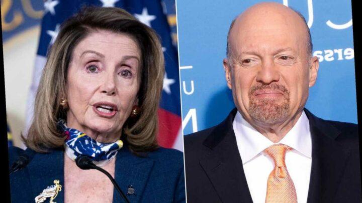 CNBC host Jim Cramer calls Pelosi 'Crazy Nancy' to her face during interview