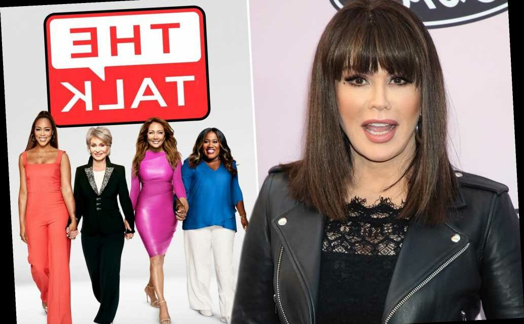 Marie Osmond's 'Talk' exit thanks to Sharon Osbourne and Sheryl Underwood