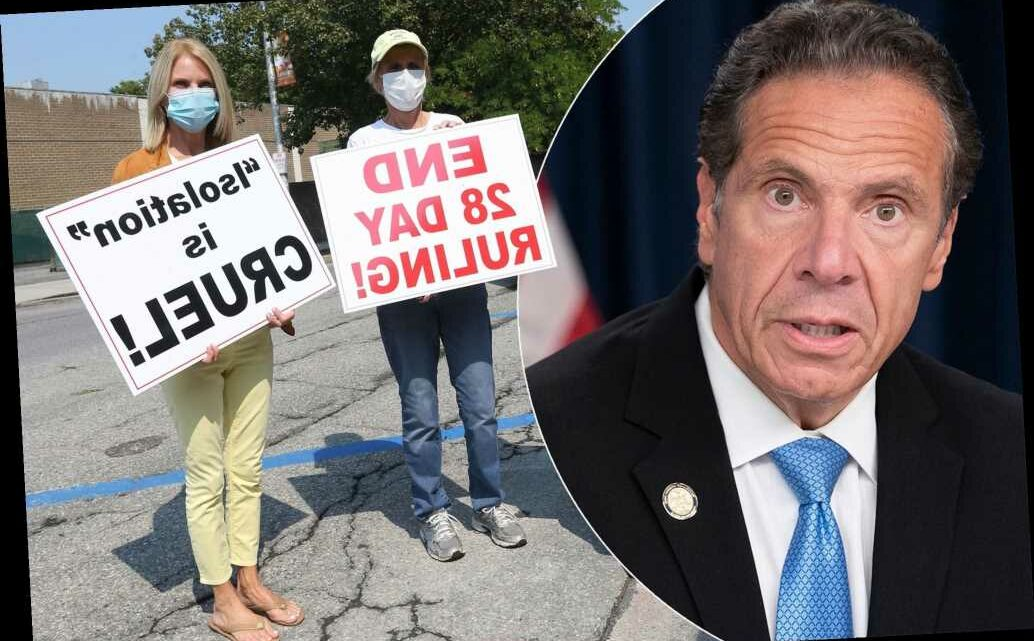 Cuomo relaxes COVID-19 nursing home restrictions amid protests