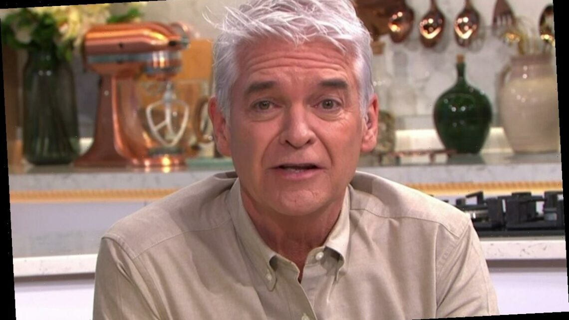 Phillip Schofield fights back tears on This Morning as he admits recent mental health struggles