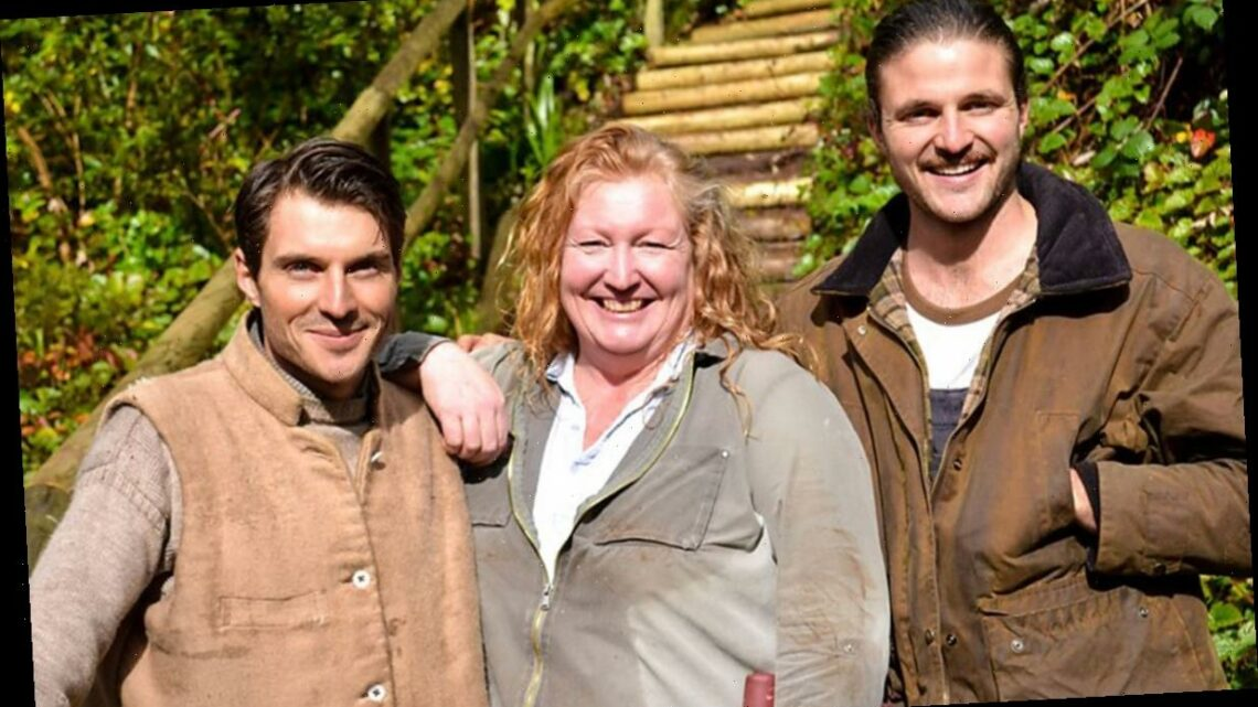 Take a look at the Garden Rescue stars' own gardens from Charlie Dimmock to the Rich Brothers