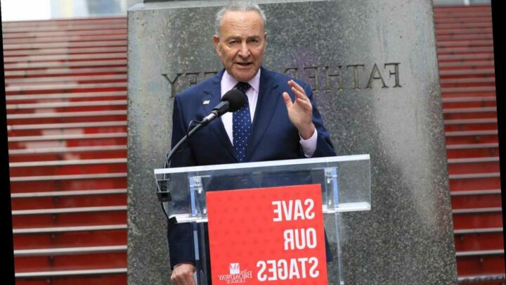 Sen. Chuck Schumer pushes Save Our Stages Act to save Broadway