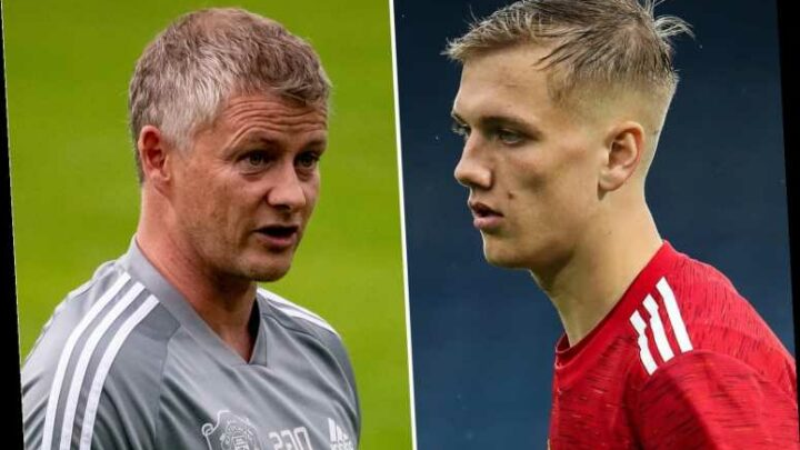 Solskjaer warns Man Utd youngster Ethan Galbraith to sharpen up after getting 'caught on the ball' vs Aston Villa