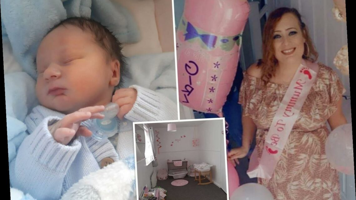 Mum built pink nursery when nurses told her TWICE she's having a little girl — but she gave birth to a son