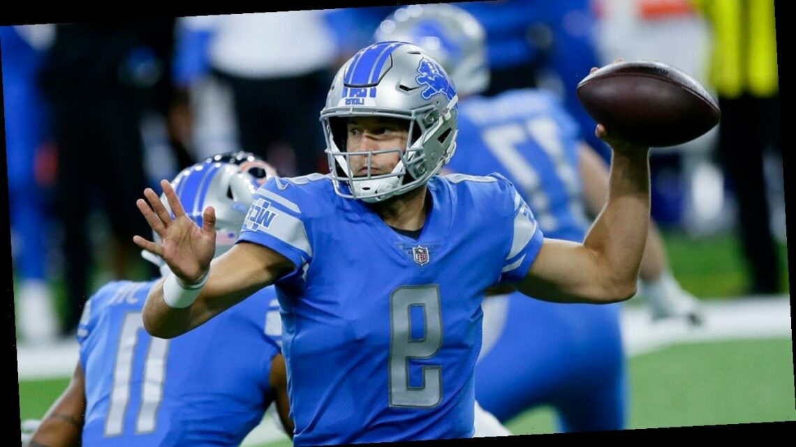Lions' Matthew Stafford says kneeling during the national anthem was 'the right thing for me'