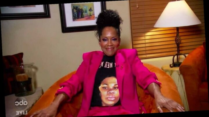 Regina King Wears Breonna Taylor T-Shirt While Accepting Fourth Emmy