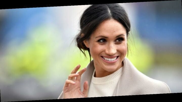 Meghan Markle revealed a small look at the living room in her new Santa Barbara home during a video interview