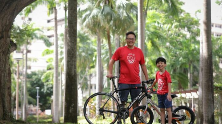 OCBC Cycle: A chance for father and son to bond over bicycling; 2020 Virtual Ride sold out