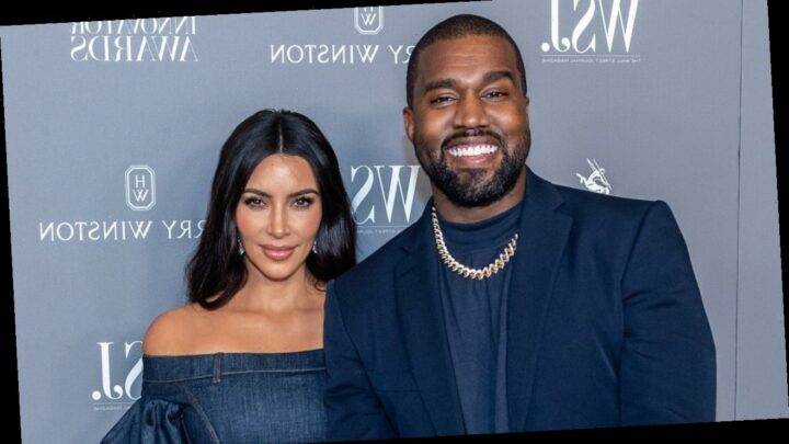 Kim Kardashian Shares Photo of Kanye West With Their 4 Kids