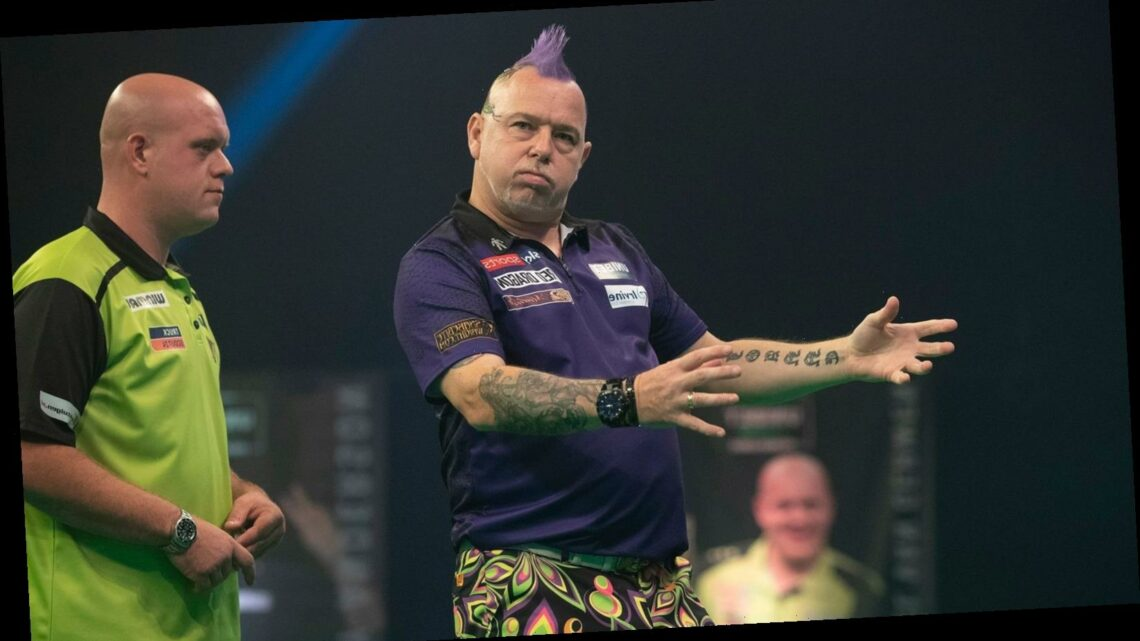 Premier League Darts 2020: Peter Wright thrashes Michael van Gerwen to leapfrog the Dutchman
