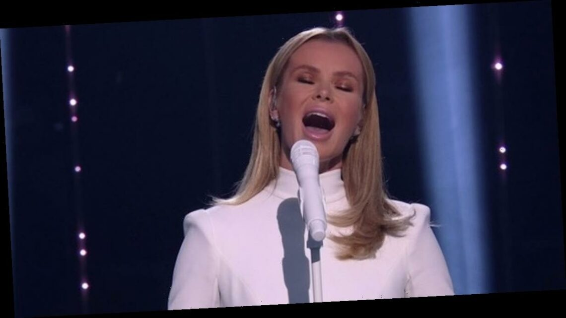 Amanda Holden 'miming' accusations denied by BGT after dazzling performance