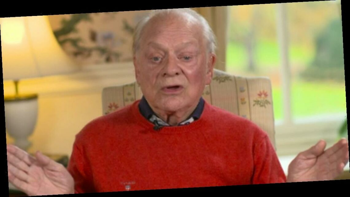 David Jason says he was almost killed by giant sugar cube during PG Tips advert