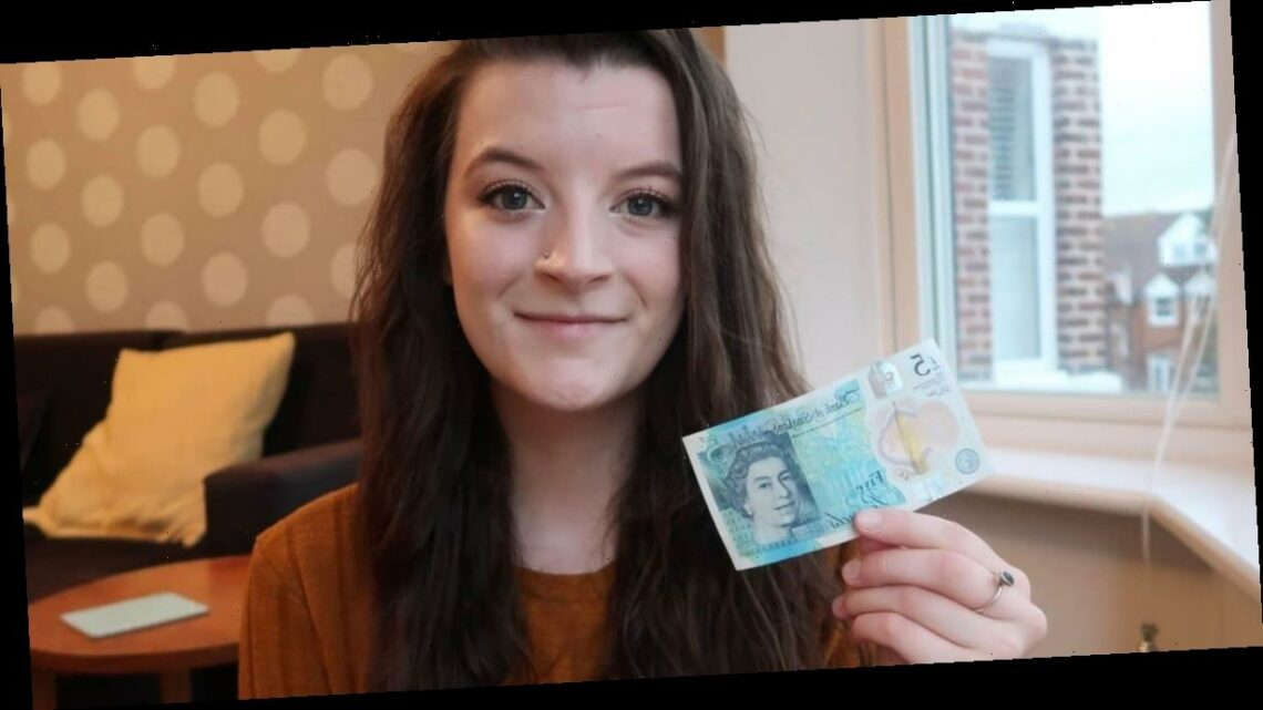 Student shares money-saving hacks after living off just £5 for five days