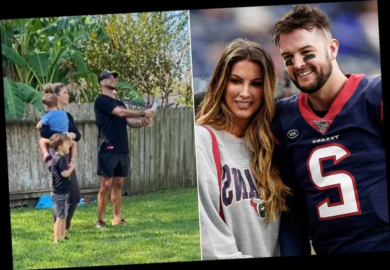 Katherine Webb needs 'prayers for my sanity' with third son coming