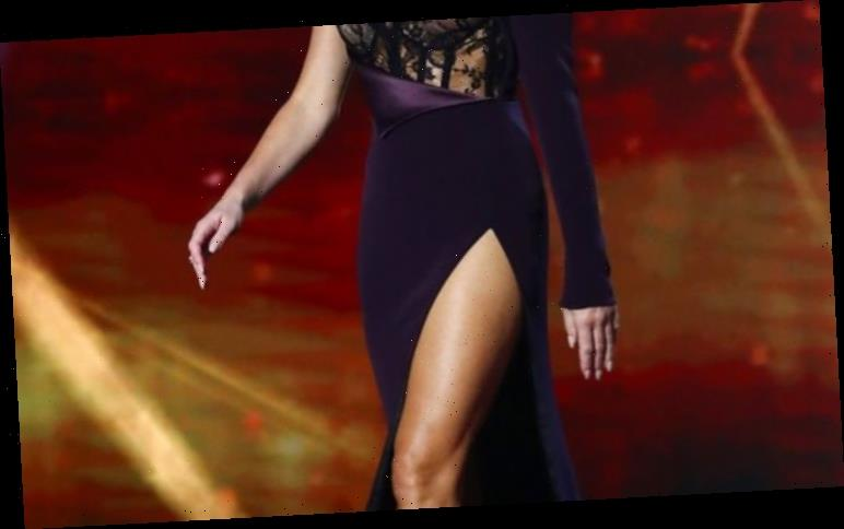 Amanda Holden wears another raunchy number in last Britain's Got Talent semi-final