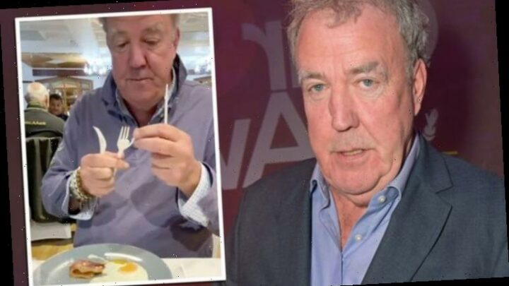 Jeremy Clarkson struggles with 'aptitude test' in The Grand Tour co-star James May's video
