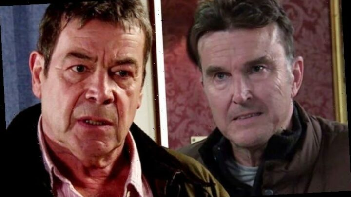Coronation Street's Johnny Connor 'dies' as he's forced into armed robbery with Scott