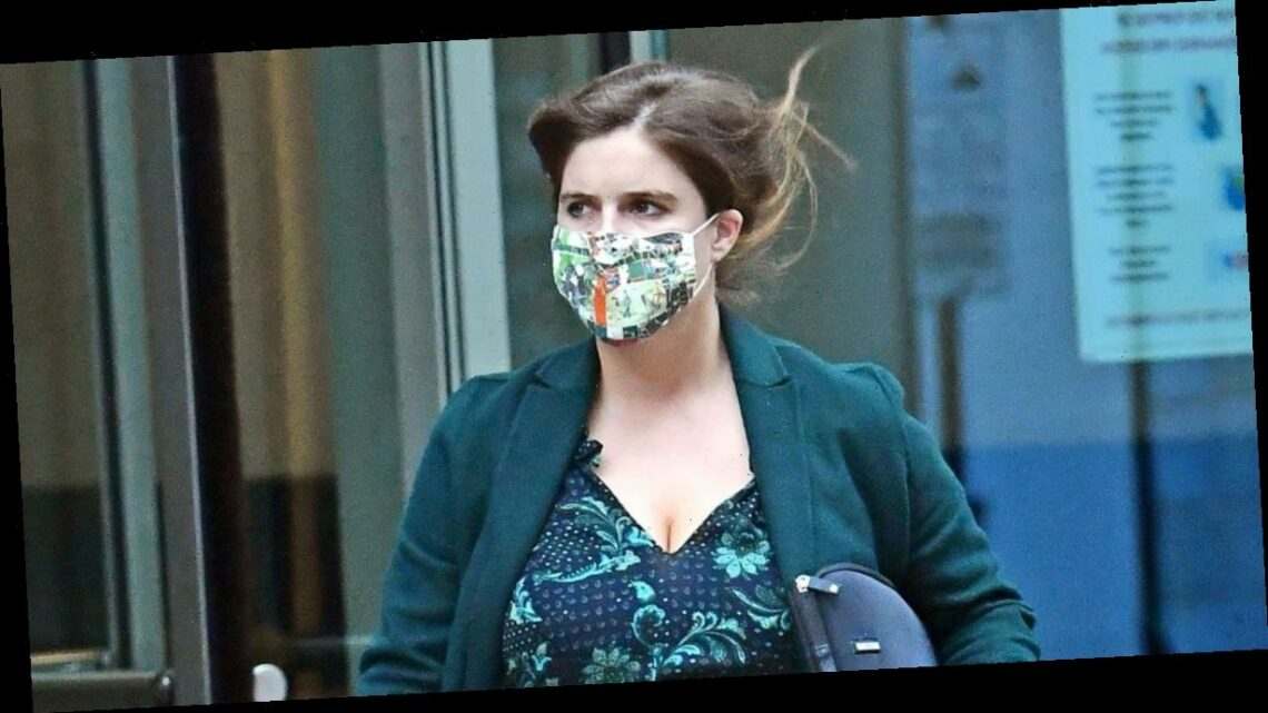 Pregnant Princess Eugenie shows off blossoming baby bump in stylish floral dress