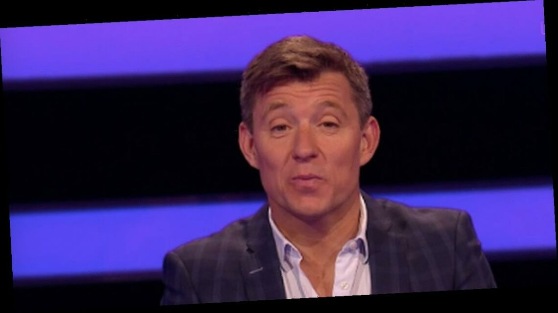 Tipping Point's Ben Shephard squirms as player makes 'unlucky' question mistake