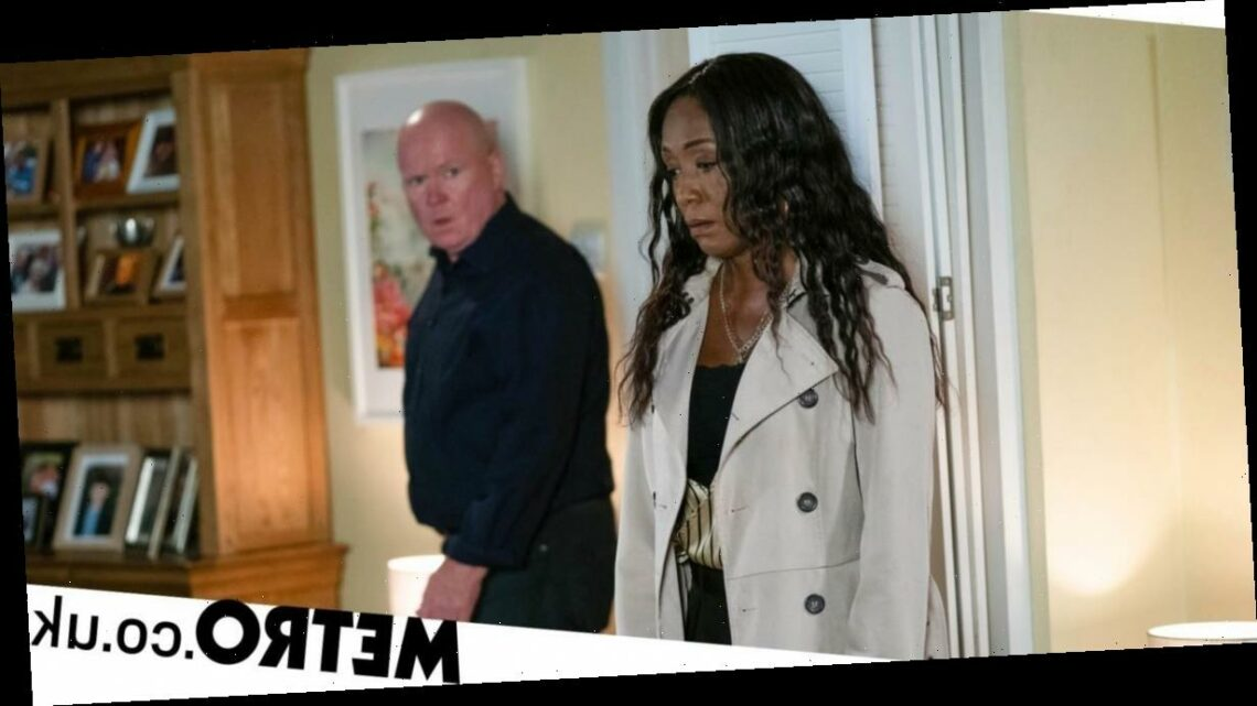 Spoilers: EastEnders' Denise joins forces with Phil to save Raymond from Ellie?