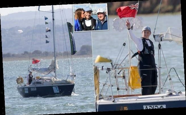 Schoolboy, 15, becomes youngest sailor to circumnavigate Britain