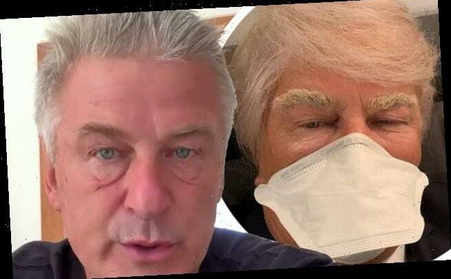 Alec Baldwin defends playing Donald Trump after COVID-19 diagnosis