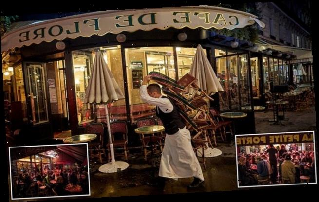 Last orders in Paris as shutters come down in French capital's bars