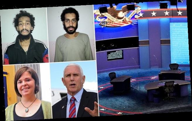 Pence brings murdered ISIS hostage Kayla Mueller's parents to debate