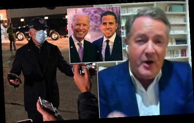 Piers Morgan calls on Joe Biden to address son's email scandal