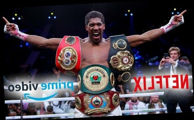 Anthony Joshua in talks with Netflix and Amazon Prime over documentary