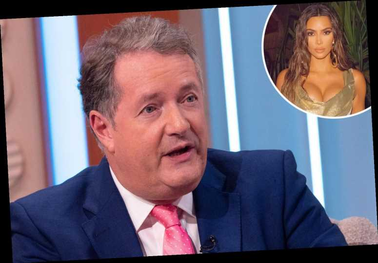 Piers Morgan reignites feud with Kim Kardashian and calls her a 'tone-deaf imbecile' who 'makes him want to vomit'