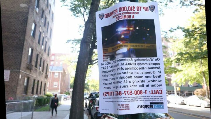 NYPD offering $10,000 reward for tips on stray-bullet slaying of Queens mom