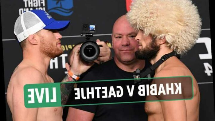 UFC 254 – Khabib vs Gaethje LIVE RESULTS: UK start time, stream, TV channel, prelims, full fight card for TODAY – The Sun