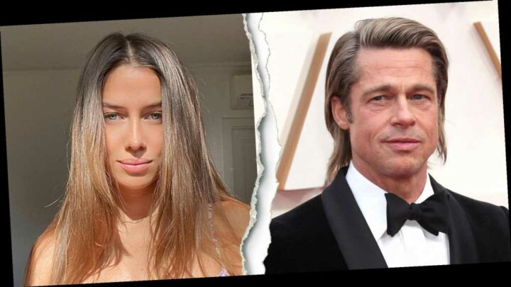 Brad Pitt and Nicole Poturalski Split: They've 'Been Over for a While'
