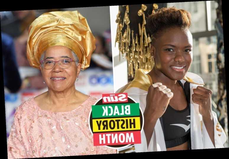 Strictly star Nicola Adams pays tribute to Prof Dame Elizabeth Anionwu as she marks Black History Month
