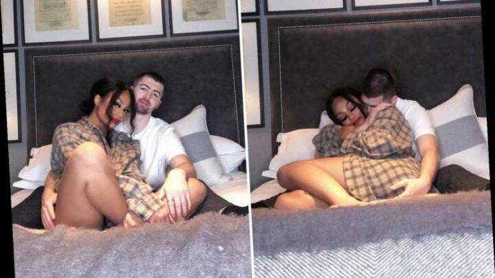 Gogglebox star Tom Malone Jr posts racy bedroom snaps with girlfriend Bryony Briscoe