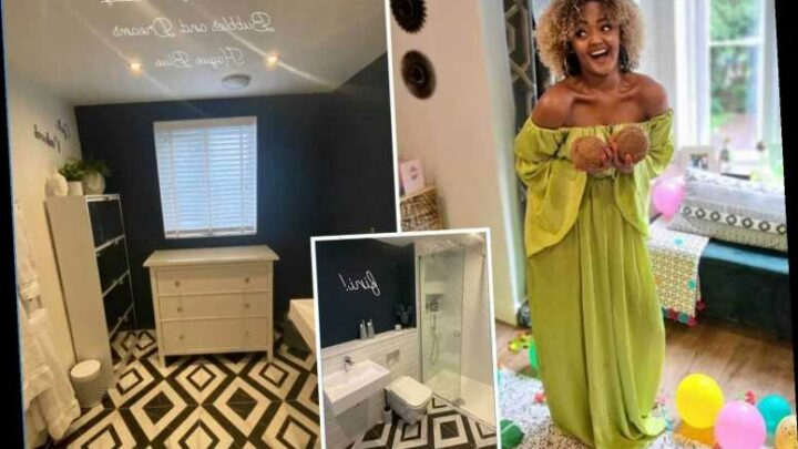 Coronation Street's Alexandra Mardell reveals incredible bathroom transformation as she renovates Manchester home