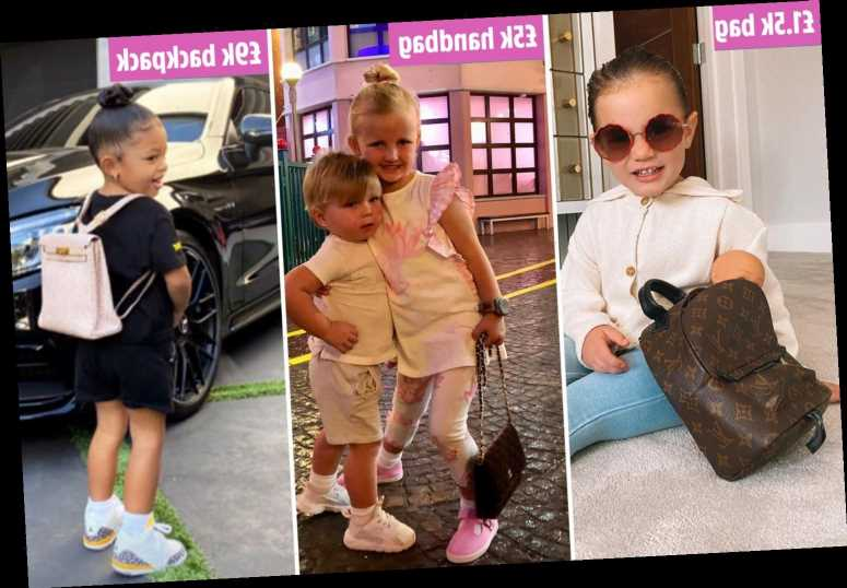 The celeb kids even more stylish than their mums – with £360 haircuts and backpacks 'more expensive than a car'